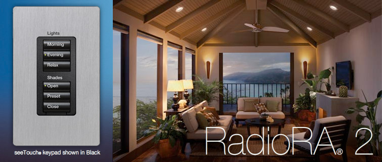 RadioRa2 Lights and Shades Keypad